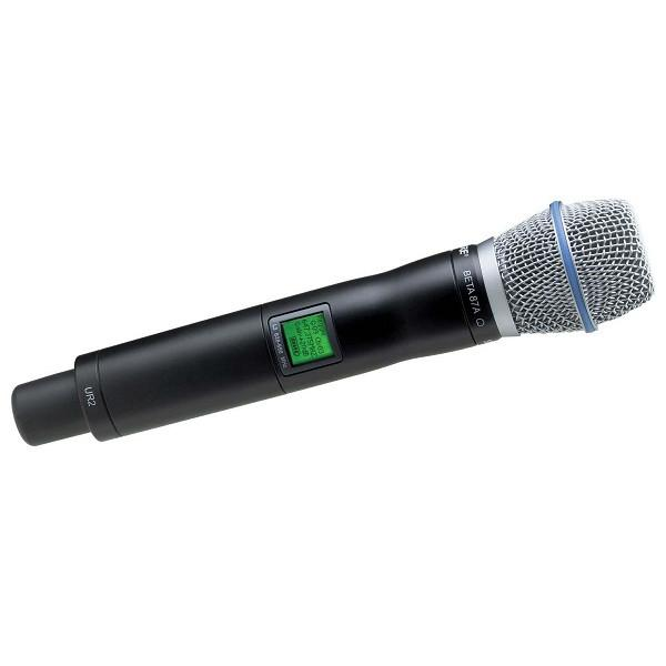 Shure Beta 58A UR2 Handheld Microphone Transmitter