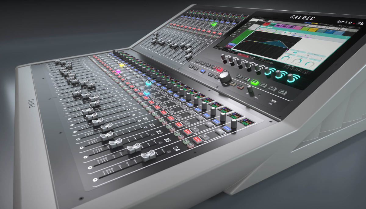 Look what just arrived at fac365, the new Calrec Brio 36