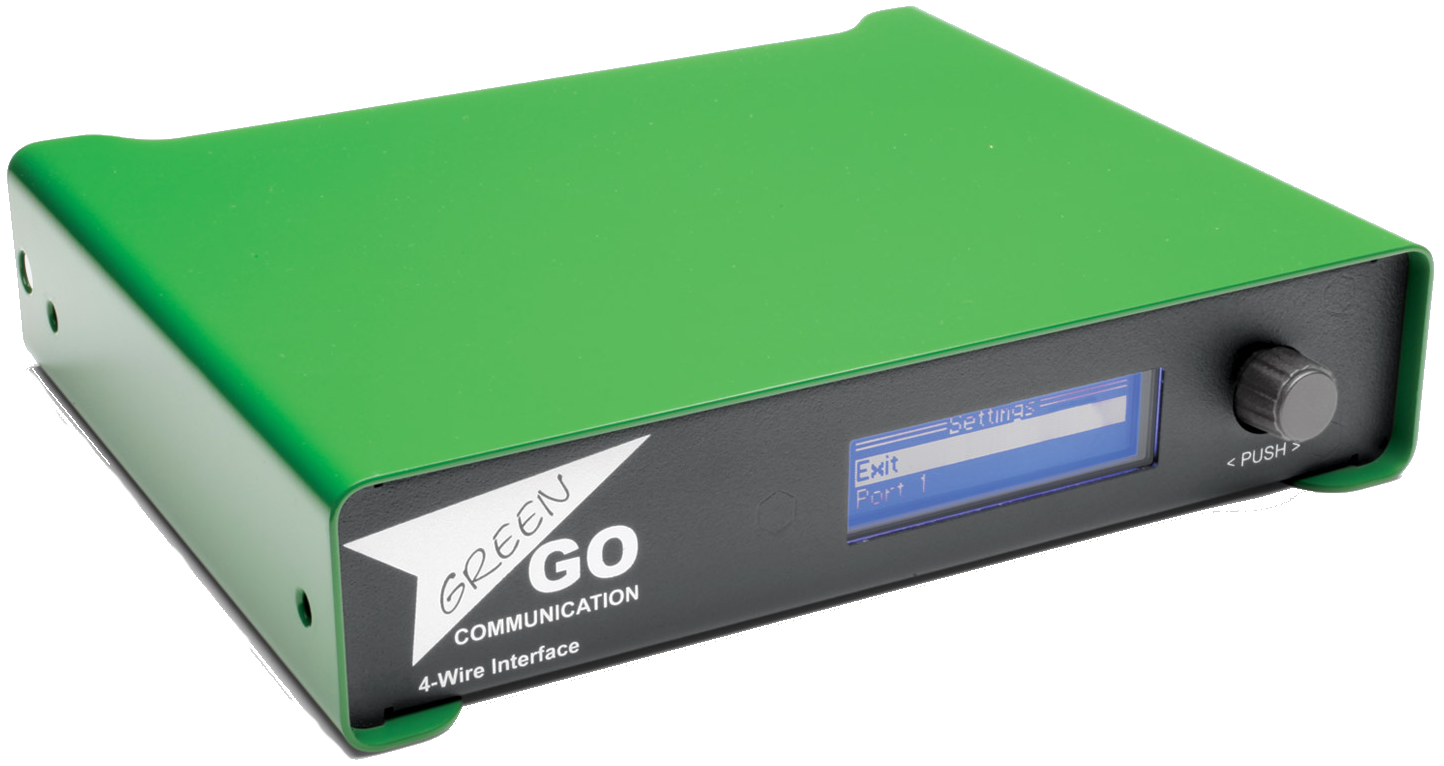 Green Go 4-Wire Interface