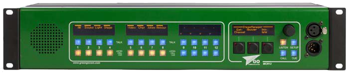 Green Go MCR 12 panel