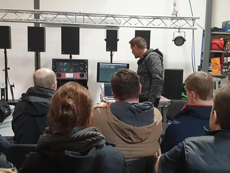 Direct Out Demo Session to showcase the new Prodigy MP Processor.